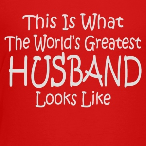 Worlds Greatest HUSBAND - Toddler Premium T-Shirt