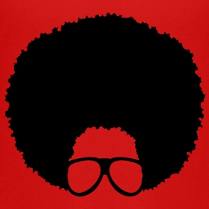 Afro with Glasses (#4) - Toddler Premium T-Shirt