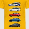 Stack of Ford Escort MkVs Coupes - Toddler Premium T-Shirt