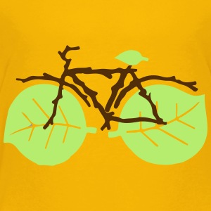 nature bicycle - Toddler Premium T-Shirt