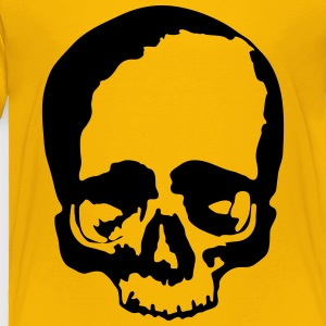 Black Skull Vector - Toddler Premium T-Shirt