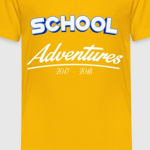 School Adventures 2017/18 - Toddler Premium T-Shirt
