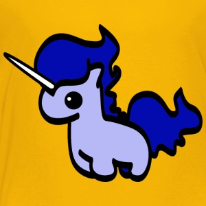 blue unicorn - Toddler Premium T-Shirt