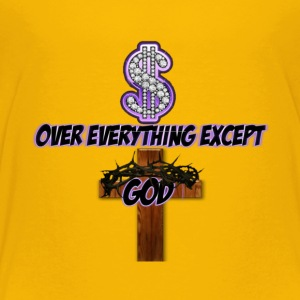 Money Over Everything-Lilac - Toddler Premium T-Shirt