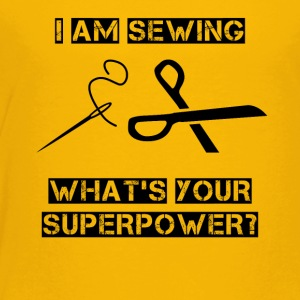 Sewing Superpower - Toddler Premium T-Shirt