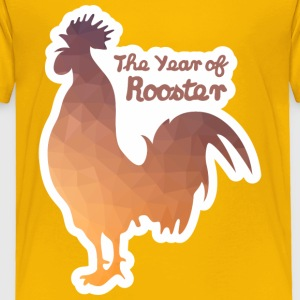 Year of Rooster - Toddler Premium T-Shirt