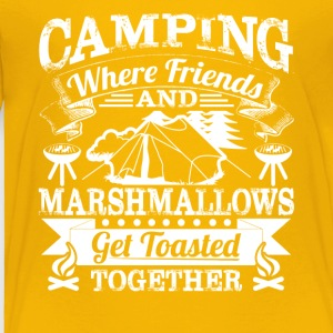 Camping Tee Shirt - Toddler Premium T-Shirt