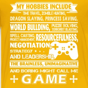 Gamer Tee Shirt - Toddler Premium T-Shirt