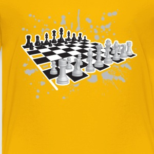 Chess Tee Shirt - Toddler Premium T-Shirt