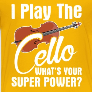 Cello Music Tee Shirt - Toddler Premium T-Shirt