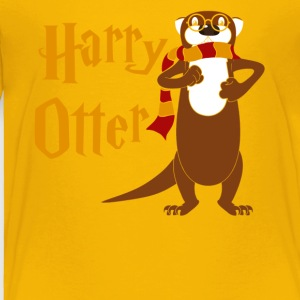 Harry Otter Tee Shirt - Toddler Premium T-Shirt