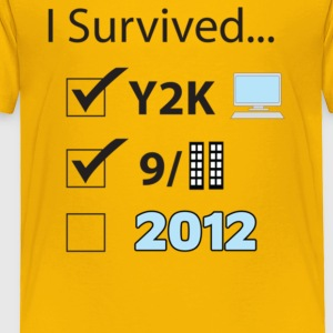I Survived 2012 - Toddler Premium T-Shirt