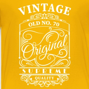 Vintage old no 70 - Toddler Premium T-Shirt