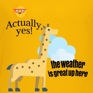 How is weather? - Toddler Premium T-Shirt