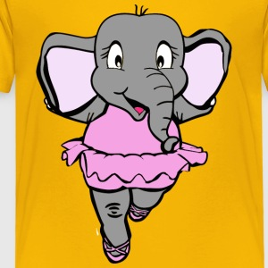 elephant dancer - Toddler Premium T-Shirt