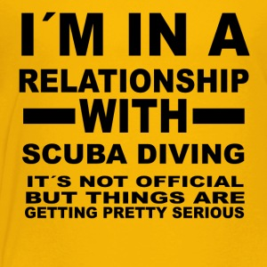 relationship with SCUBA DIVING - Toddler Premium T-Shirt