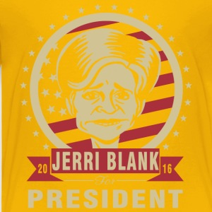 Jerri Blank for President - Toddler Premium T-Shirt