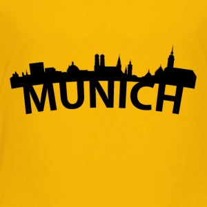 Arc Skyline Of Munich Germany - Toddler Premium T-Shirt