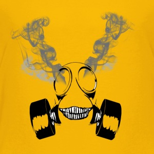 Insane Smoking Gas Mask - Toddler Premium T-Shirt