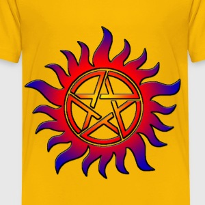 Anti Possession Symbol Sun Fire - Toddler Premium T-Shirt