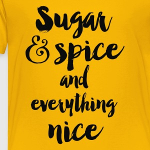 Sugar and Spice - Toddler Premium T-Shirt