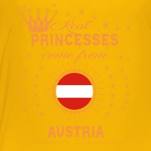 love princesses come from AUSTRIA - Toddler Premium T-Shirt