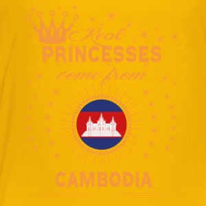 love princesses come from CAMBODIA - Toddler Premium T-Shirt