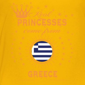 love princesses come from GREECE - Toddler Premium T-Shirt