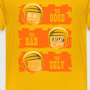 GOOD COP BAD COP UGLY COP - Toddler Premium T-Shirt