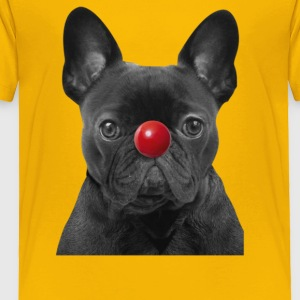 Red Nose Day Frenchie - Toddler Premium T-Shirt