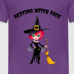 Resting Witch Face - Toddler Premium T-Shirt