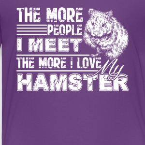 Love Hamster Shirts - Toddler Premium T-Shirt