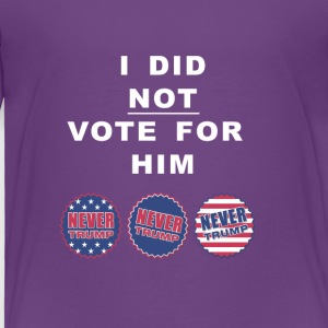 Vote design - Toddler Premium T-Shirt