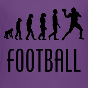 Football Evolution Quarterback - Toddler Premium T-Shirt