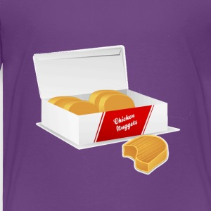 Chicken Nuggets Lover - Toddler Premium T-Shirt