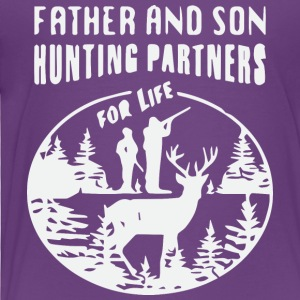 Father and son hunting partner for life - Toddler Premium T-Shirt