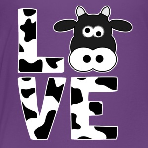 I love cows - Gift for farmers - Toddler Premium T-Shirt