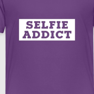 SELFIE ADDICT - Toddler Premium T-Shirt