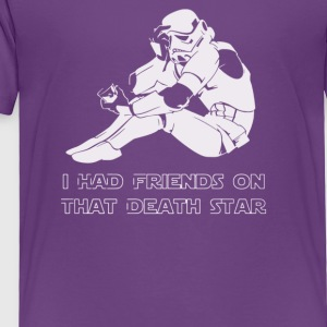 Sad Trooper - Toddler Premium T-Shirt