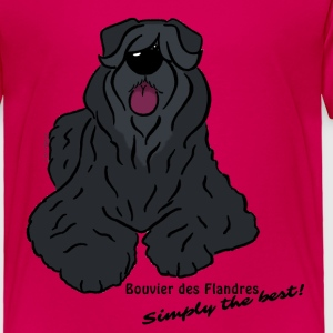 Bouvier des Flandres Simply the best! - Toddler Premium T-Shirt