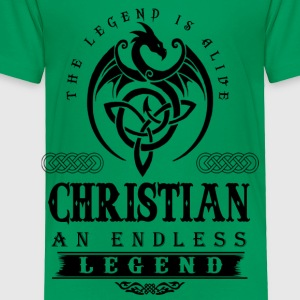CHRISTIAN - Toddler Premium T-Shirt