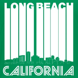 Retro Long Beach California Skyline - Toddler Premium T-Shirt