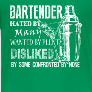 Awesome Bartender Tee Shirt - Toddler Premium T-Shirt