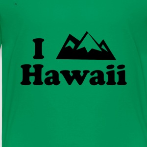 hawaii mountain - Toddler Premium T-Shirt