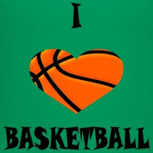 Basketball HEART1 - Toddler Premium T-Shirt