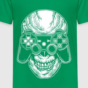 Skull Gamers. Gaming till the end. - Toddler Premium T-Shirt