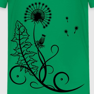Meadow, dandelion, summer and spring. - Toddler Premium T-Shirt