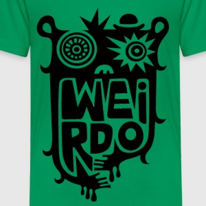 Big weirdo on light colors - Toddler Premium T-Shirt