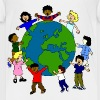 children around the world - Kids' Premium T-Shirt