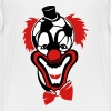 clown nose red soccer ball bow - Kids' Premium T-Shirt